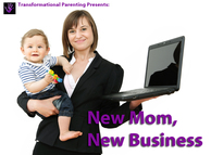 A step by step guide for new moms to start their own home business.