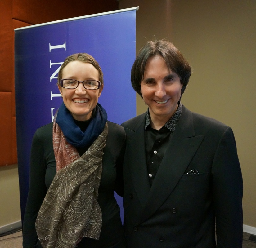 Mia Von Scha and Dr John Demartini